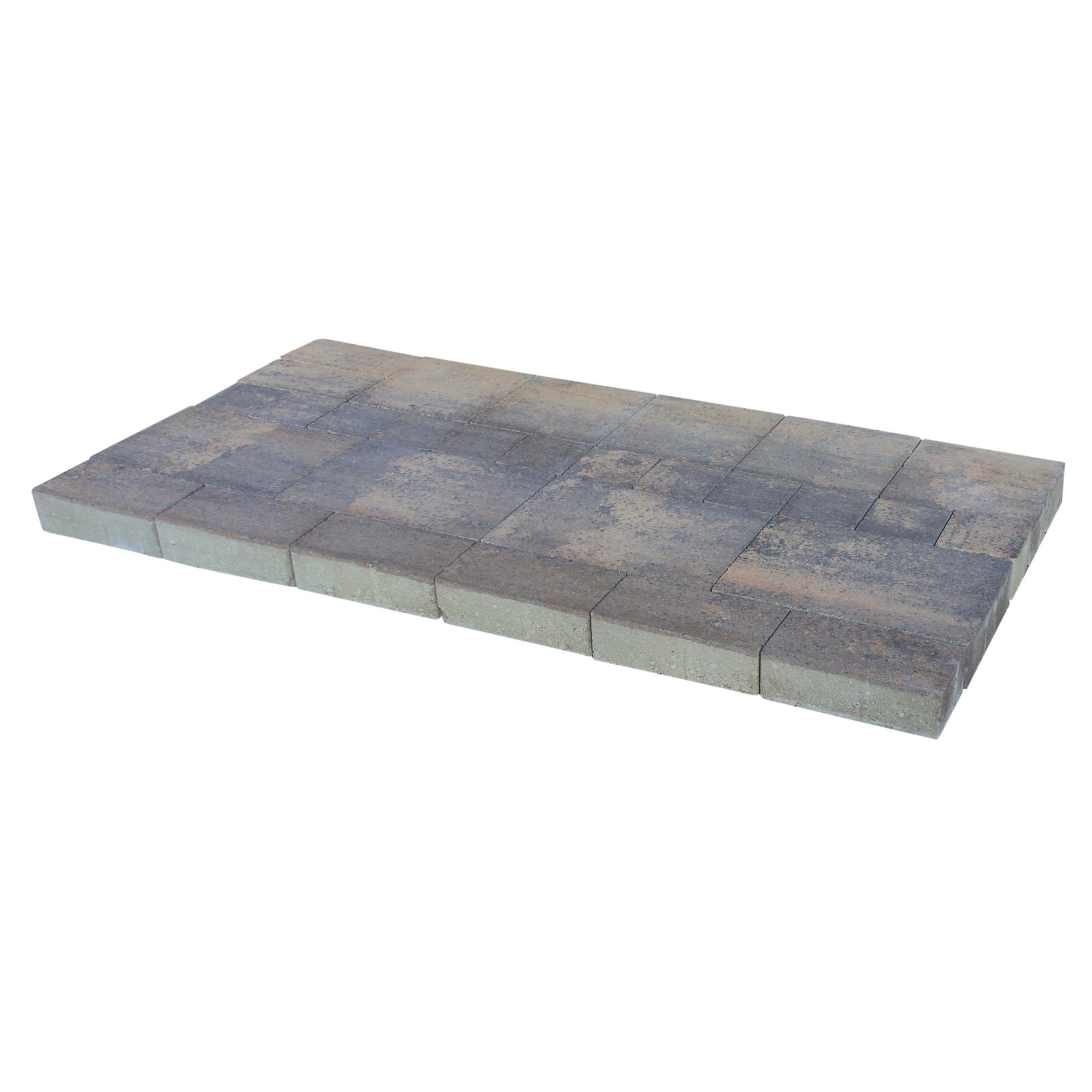 Kasseien Beton Plano Taunus Wildverband Grijs/Bruin - 0,72 m2