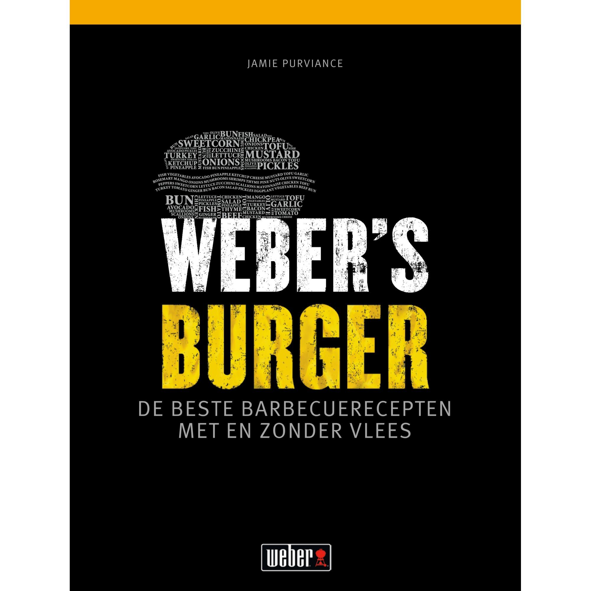 Weber receptenboek burger