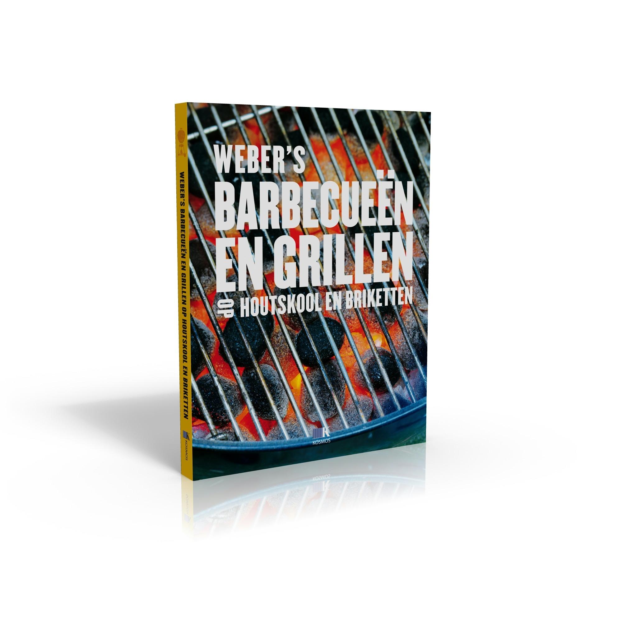 Weber receptenboek barbecueen en grillen met houtskool en briketten