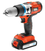 Black+Decker accuklopboormachine EGBHP1881BK