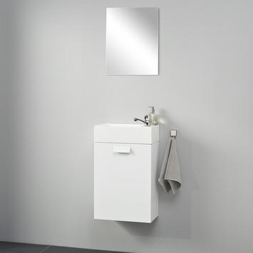 Differnz Fonteinset Fabulous Hoogglans Wit 40x22x63 cm