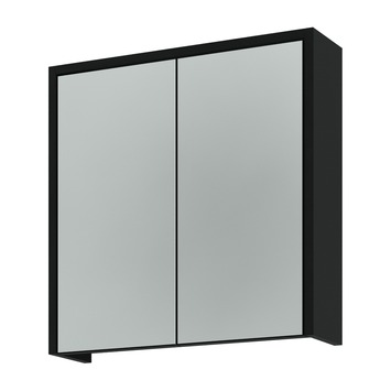 Spiegelkast Badkamer 60 Cm.Gamma Arte Spiegelkast Zwart 60 Cm Kopen