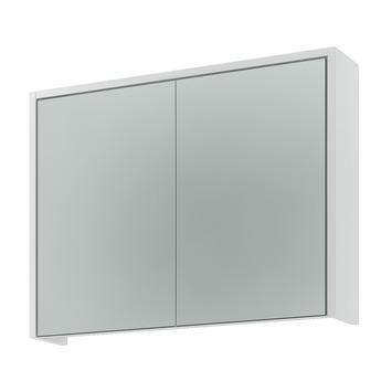 Gamma arte spiegelkast hoogglans wit 80 cm kopen for Spiegelkast 80 cm