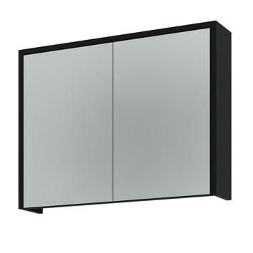 Spiegelkast Badkamer 80 Cm.Gamma Arte Spiegelkast Zwart 80 Cm Kopen
