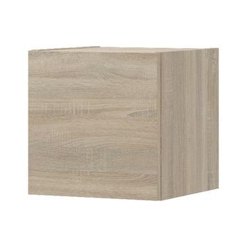 Bruynzeel blokkast eiken grijs 35 cm