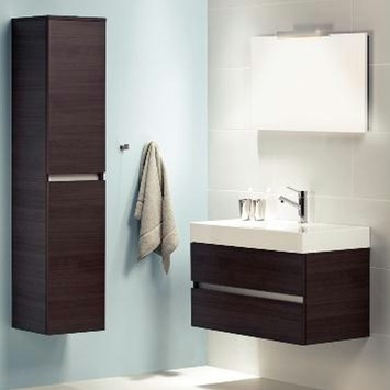 GAMMA | Bruynzeel Monta badkamermeubel 90cm donker eiken kopen ...