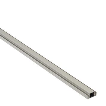 Screenlite tussenprofiel aluminium blank 100 cm