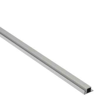 Screenlite horprofiel aluminium blank 100 cm