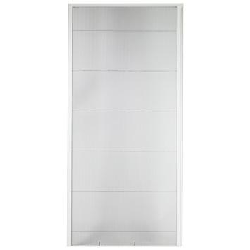 Bruynzeel plisséhor schuifpui 700 serie wit 150x240 cm