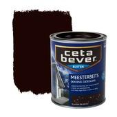 CetaBever meesterbeits dekkend klassiek bruin zijdeglans 750 ml