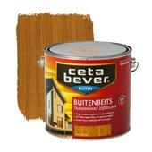 CetaBever buitenbeits transparant licht eiken zijdeglans 2,5 liter