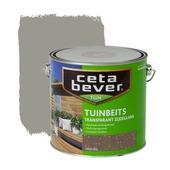CetaBever tuinbeits transparant grijs zijdeglans 2,5 liter