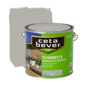 CetaBever tuinbeits transparant licht grijs zijdeglans 2,5 liter