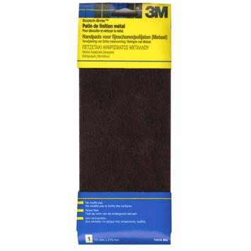 3M ScotchBrite polijstpad metaal