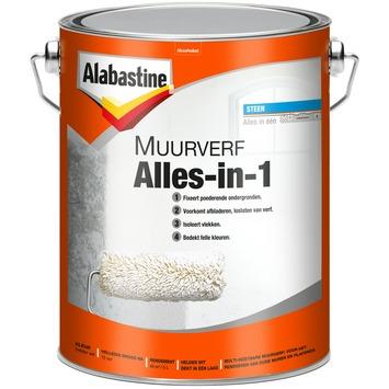 Alabastine muurverf Alles-in-1 wit mat 5 liter
