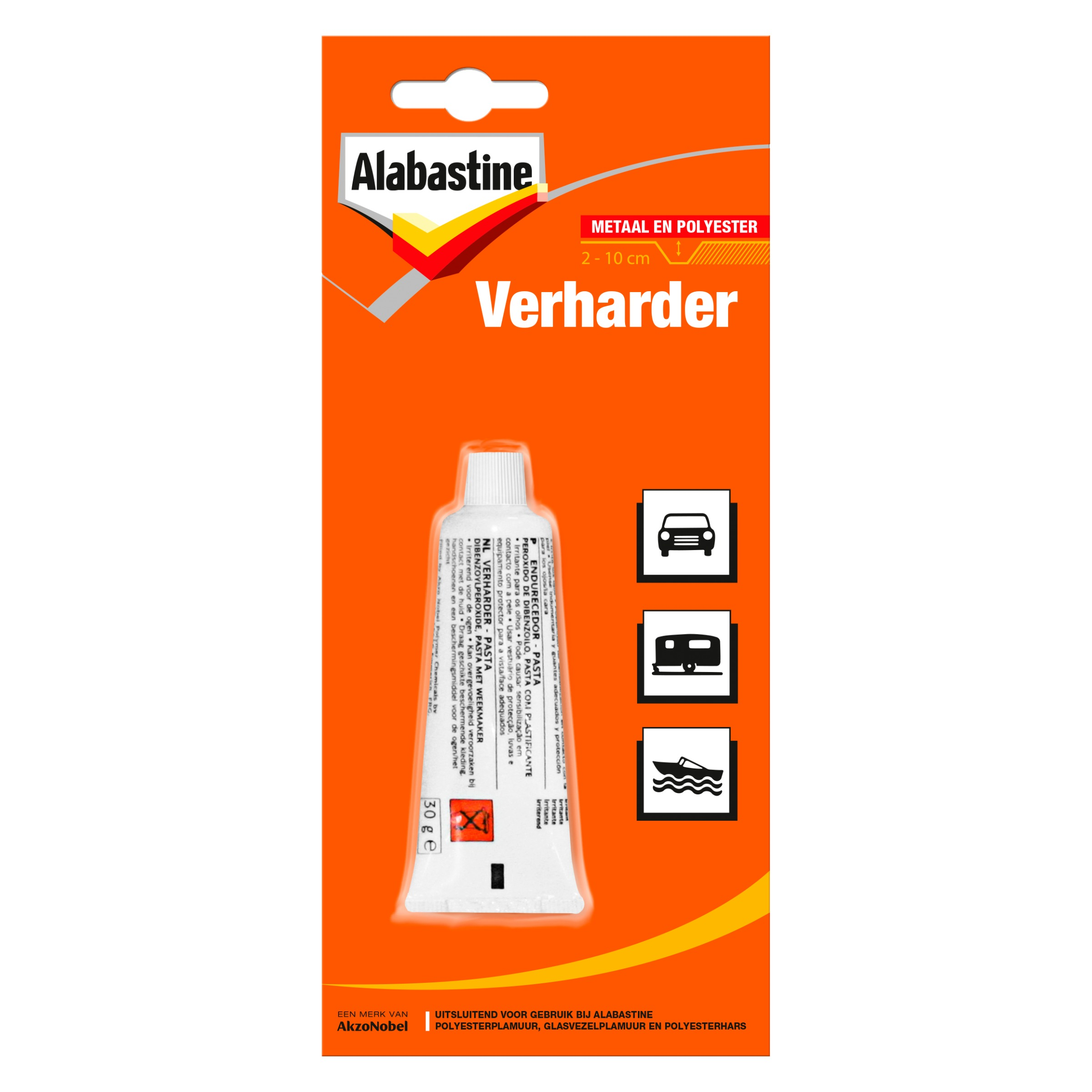 Alabastine plamuurverharder 30 vh