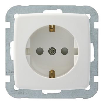 GAMMA K2 Voordeelpack 3x Stopcontact en 3x Schakelaar Wit