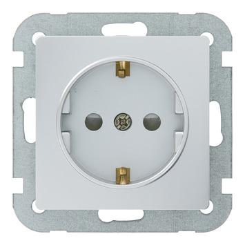 GAMMA Ventoux voordeelpack 3x contactdoos en 3x schakel zilver