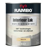 Rambo interieurlak transparant kleurloos mat 750 ml
