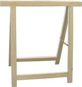 Schraag zwaar hout 80x80 cm