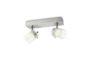 Philips duobalk Toile LED 2X4W wit