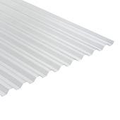Martens damwandplaat / trapezeplaat PVC glashelder 92,8x244 cm
