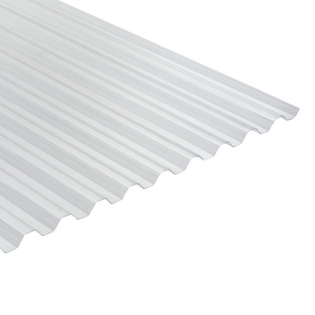 Martens damwandplaat / trapezeplaat PVC transparant 214x92,8 cm