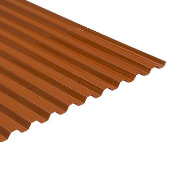Martens damwandplaat / trapezeplaat PVC rood 214x92,8 cm