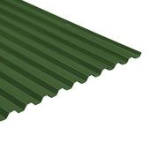 Martens damwandplaat / trapezeplaat PVC groen 214x92,8 cm