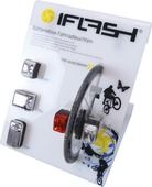 I-flash fietslamp if-80016
