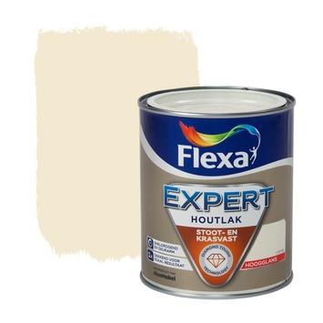 Flexa Expert lak crème wit hoogglans 750 ml