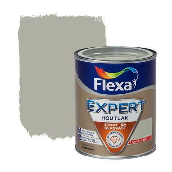 Flexa Expert lak kiezelgroen hoogglans 750 ml