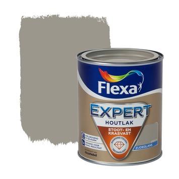 Flexa Expert lak grijsbruin zijdeglans 750 ml