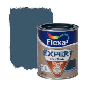 Flexa Expert lak staalblauw zijdeglans 750 ml