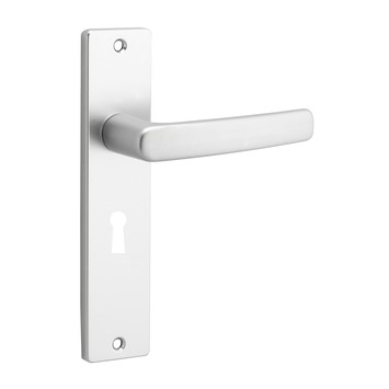 OK deurkrukset Blok kortsschild aluminium slotgat 56 mm