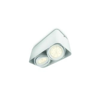 Philips Afzelia spot met 2 x geïntegreerde LED 3W = 35W wit