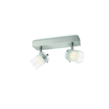 Philips duobalk Toile LED 2X4W wit