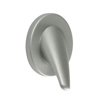 Knop Tresse aluminium 40mm