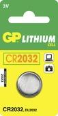 GP Lithium batterij 3V CR2032 1 stuk