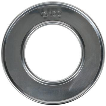 Buisrozet aluminium Ø 100 mm