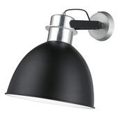 Wandlamp Levira zwart