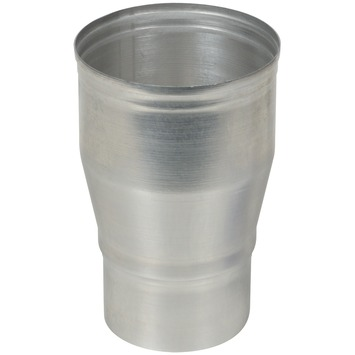 Verloopstuk aluminium vergroot 80x100 mm