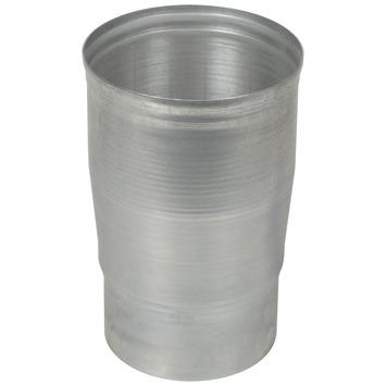 Verloopstuk aluminium vergroot 90x100 mm