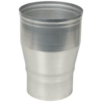 Verloopstuk aluminium vergroot 90x110 mm