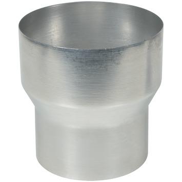 Verloopstuk aluminium vergroot 100x120 mm