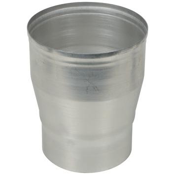 Verloopstuk aluminium vergroot 110x130 mm