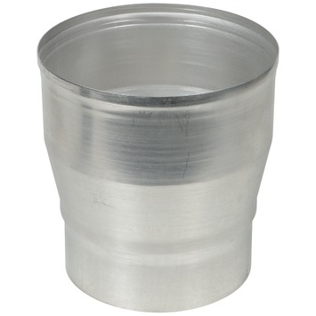 Verloopstuk aluminium vergroot 130x150 mm