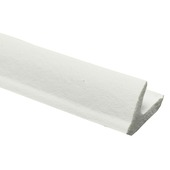 Tochtband v-profiel EPDM rubber wit 3 meter 2 stuks