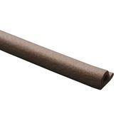 GAMMA tochtband P-profiel EPDM rubber bruin 3 meter 2 stuks