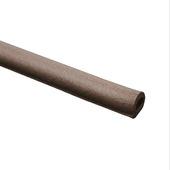 GAMMA tochtband D-profiel EPDM rubber bruin 3 meter 2 stuks
